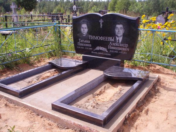 Памятник из гранита для двоих