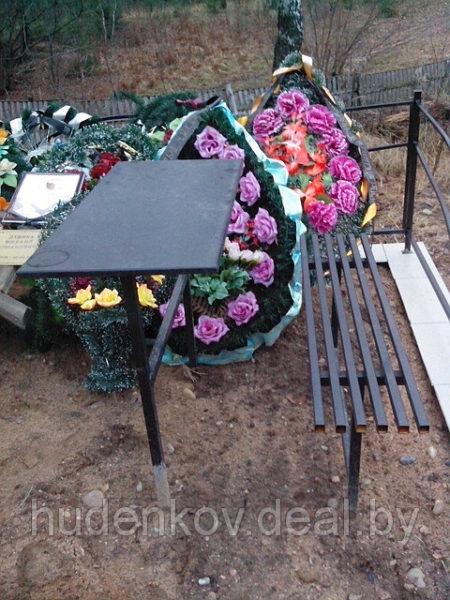 Стол + скамейка
