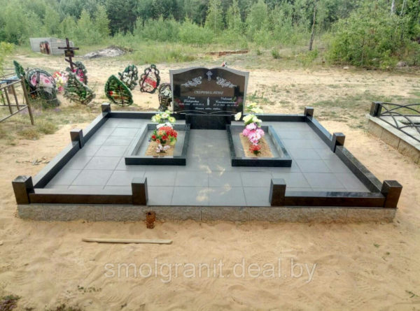 Благоустройство и реставрация могилы