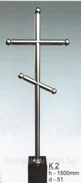 Крест из нержавеющей стали 2