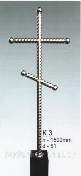 Крест из нержавеющей стали 3