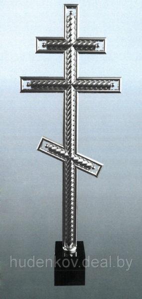 Крест из нержавеющей стали 5
