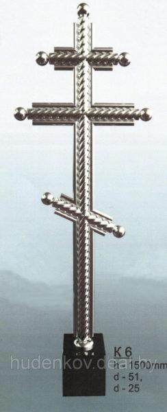 Крест из нержавеющей стали 6