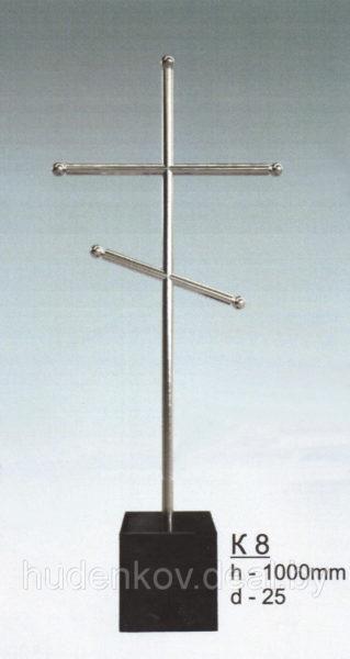 Крест из нержавеющей стали 8