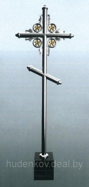 Крест из нержавеющей стали 10